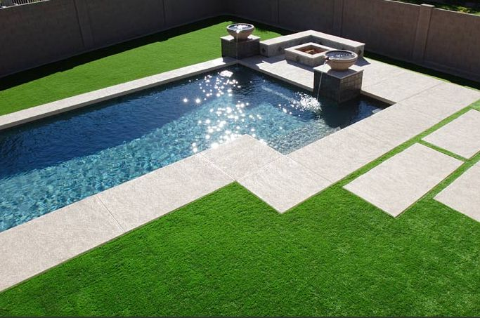 Artificial Lawn Garden Designs